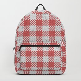 Indian Red Buffalo Plaid Backpack