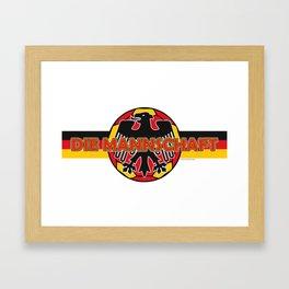Germany Die Mannschaft (The Team) ~Group F~ Framed Art Print