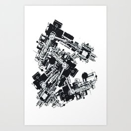 Machineatronic Art Print