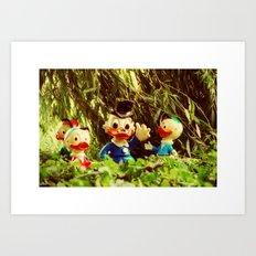 Duck Tales Art Print