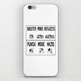 Shelter More Refugees iPhone Skin