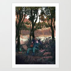 Metal Gear Solid - The End Art Print