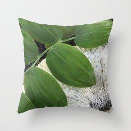 Nature contrast Throw Pillow