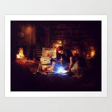 Stories Mystic Scene  Art Print