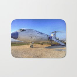 Malev Tupolev TU-154 Jet Bath Mat