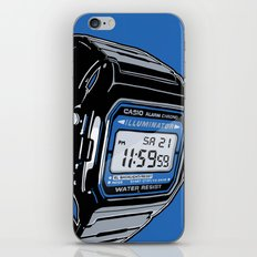 Casio F-105 Digital Watch iPhone Skin