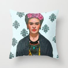 Trendy Frida Kahlo V.2 Throw Pillow