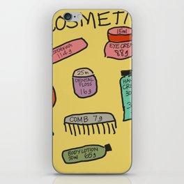 Cosmetics iPhone Skin