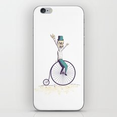 Let's ride Penny-farthing iPhone & iPod Skin