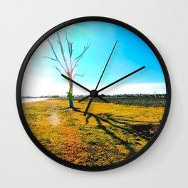 A Tree Grows in Joplin  Wall Clock