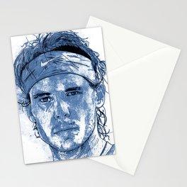 Rafael Nadal Illustration Stationery Cards