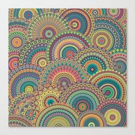 Millefiori Mandala Canvas Print