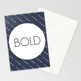 Be Bold - One Little Word Stationery Cards