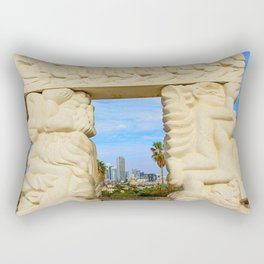 Gate of Faith Rectangular Pillow