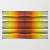 quilt Area & Throw Rugs featuring Quilt Pattern  by Zenya Zenyaris