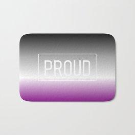 Asexual Flag - Pride Bath Mat