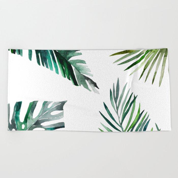 Simply botanic Beach Towel