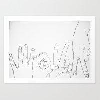 4EVA (Forever) Art Print