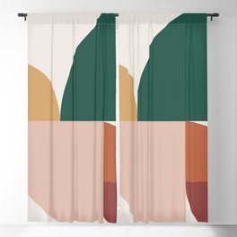 Abstract Geometric 11 Blackout Curtain