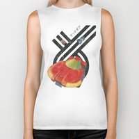 led zeppelin Biker Tanks featuring Led Storm by Slippytee Clothing