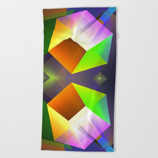 From a different point of view Beach Towel