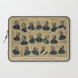Famous Union Commanders of the Civil War 1861-65 Laptop Sleeve