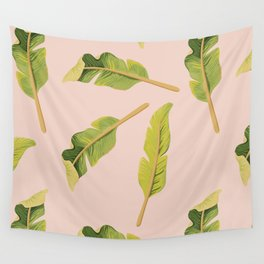 Tropical '17 - Solar [Banana Leaves] Wall Tapestry