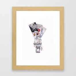 The Tarot Spread Framed Art Print