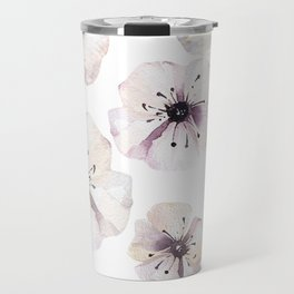 Moon flowers Travel Mug