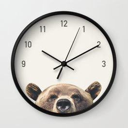 Bear Clock Wall Clock