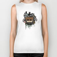 book cover Biker Tanks featuring CRAFT - Book Cover by VerticalSynapse