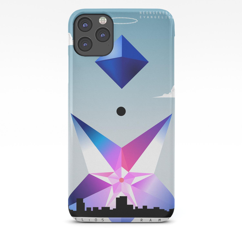Neon Genesis Evangelion Angel 05 Ramiel Iphone Case By Mnmstudios Society6