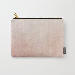 Peachy Ombre Carry-All Pouch
