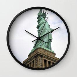 Lady Liberty Wall Clock