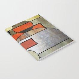 Falling Industrial Notebook