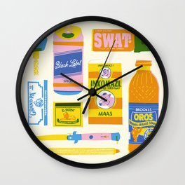 Survial Kit Wall Clock
