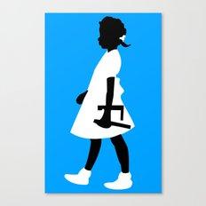 Ruby Walks Canvas Print