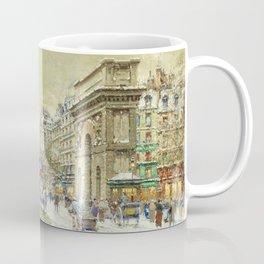 Porte St. Martin, Paris by Antoine Blanchard Coffee Mug