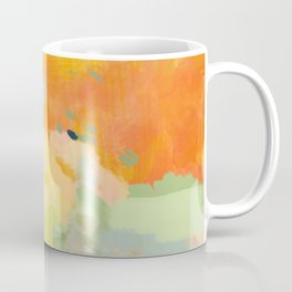 abstract spring sun Coffee Mug