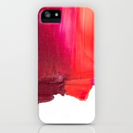 Smearies iPhone Case