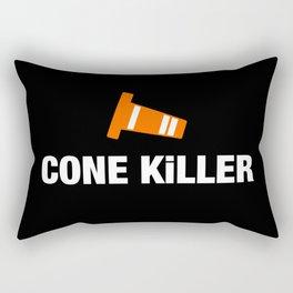 Cone Killer v3 HQvector Rectangular Pillow