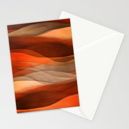 """""""Sea of sand and caramel waves"""" Stationery Cards"""