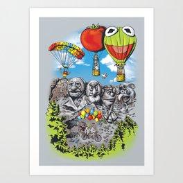 Epic Adventure Art Print