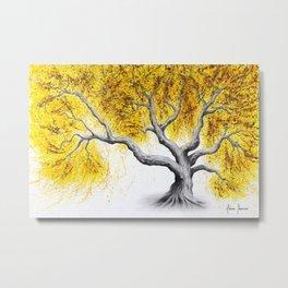 Sunshine Tree Metal Print