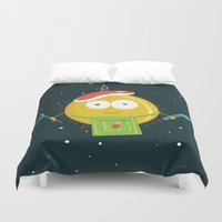 chef Duvet Covers featuring Sun Chef by alonsomi