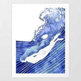 Kymothoe Art Print