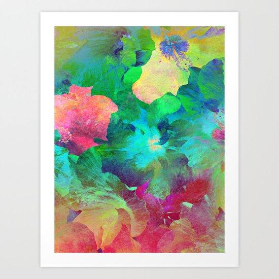 Hibiscus Dream #4 Art Print
