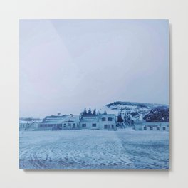 The little house Metal Print