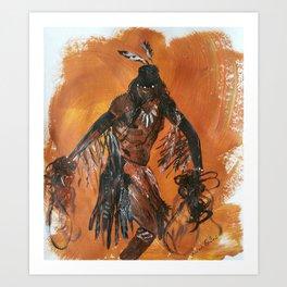 Native American Indian Art Print