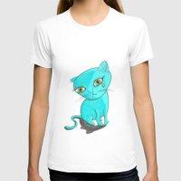 tiffany T-shirts featuring Tiffany Kitty by Heidi Bada